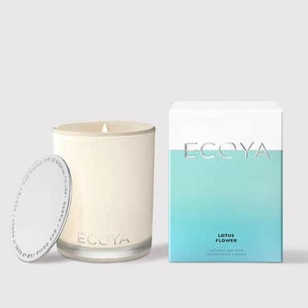 Ecoya Lotus Flower Candle