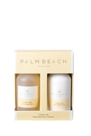 Palm Beach Coconut and Lime Hand and Body Wash  Lotion Set