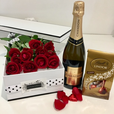 Valentines Truly Madly Deeply Rose Box